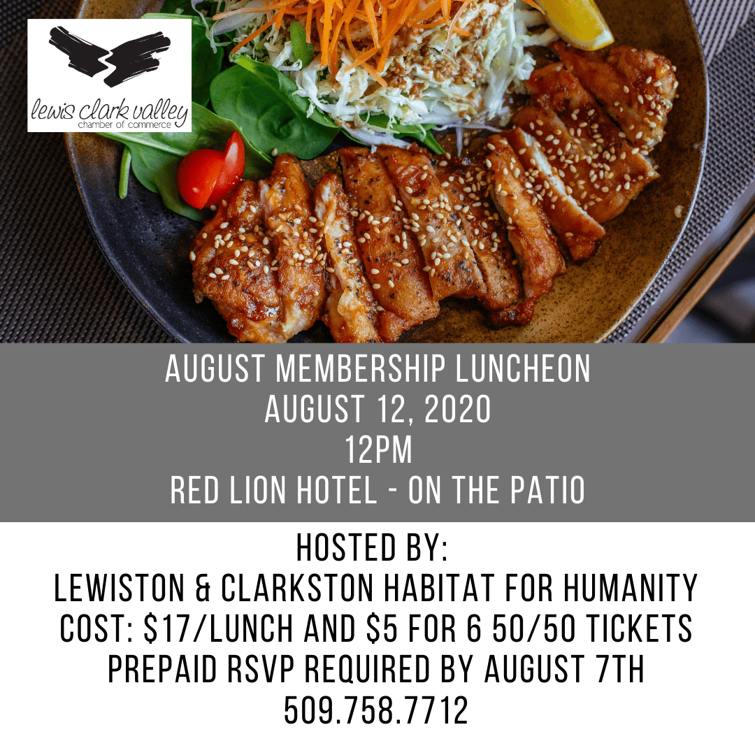 Aug Membership Lunch