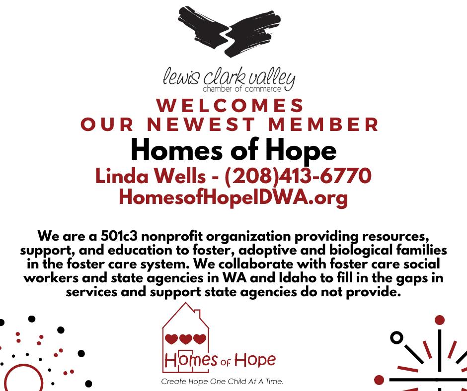 Homes of Hope New member